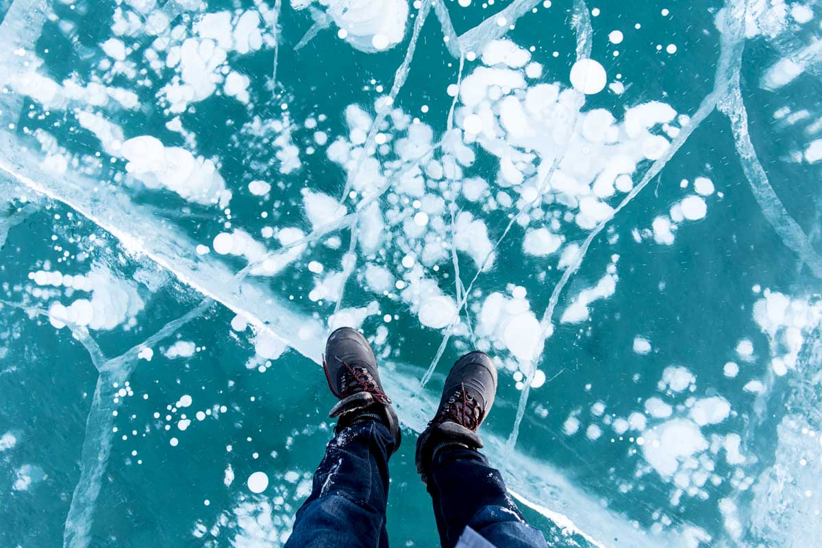 2月のアブラハムレイクに行ったら神秘的すぎてヤバかった。冬限定のカナディアンロッキーの秘境【写真多め】
