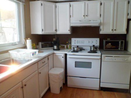 Aurora Jenny's B&Bの設備:キッチンが使えるから自炊で節約できます