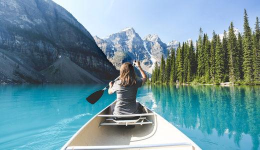 バンクーバー旅行だけじゃ物足りない人はバンフに行くべき。カナダ雄大な大自然を味わえます。
